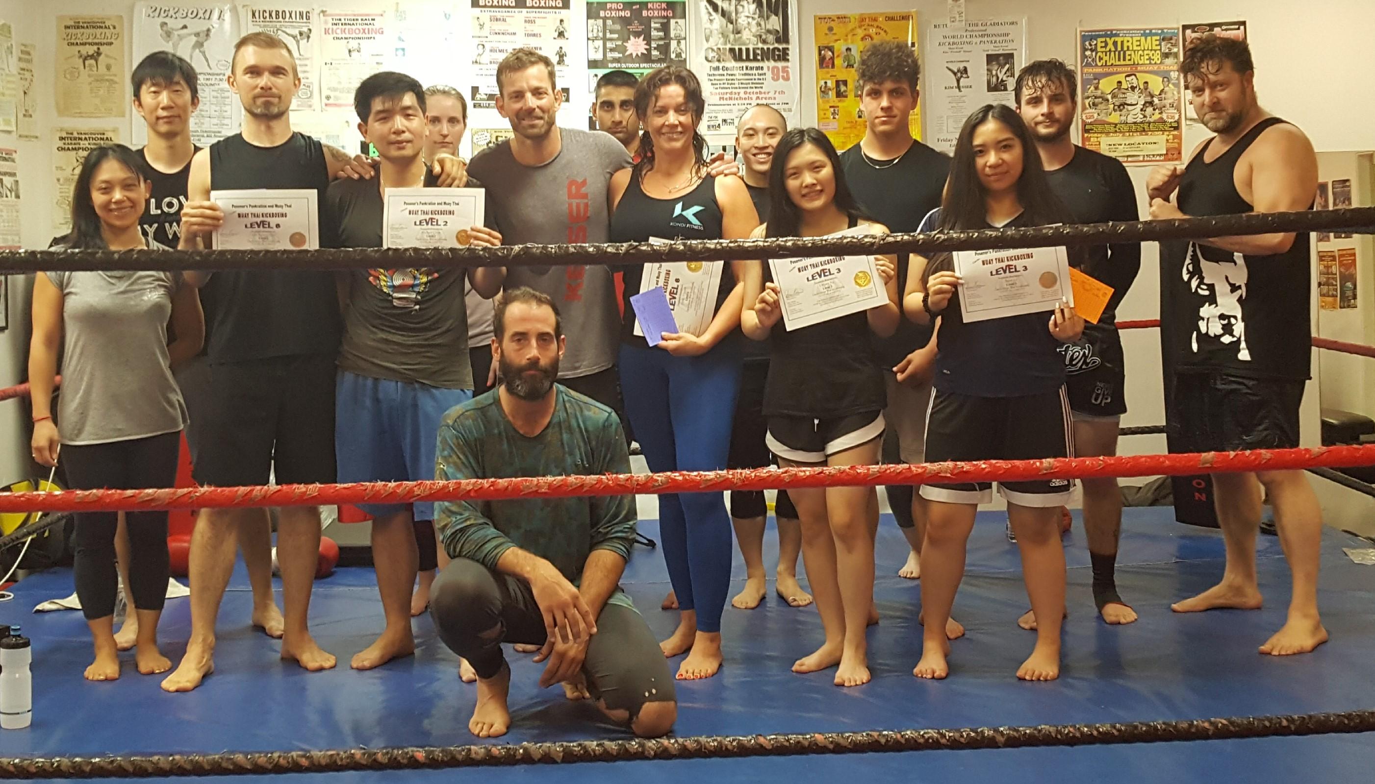 Cardio Muay Thai Kickboxing Vancouver