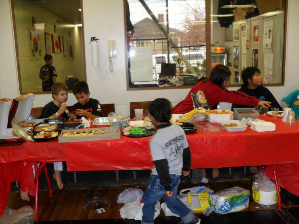 2011 dojo xmas party