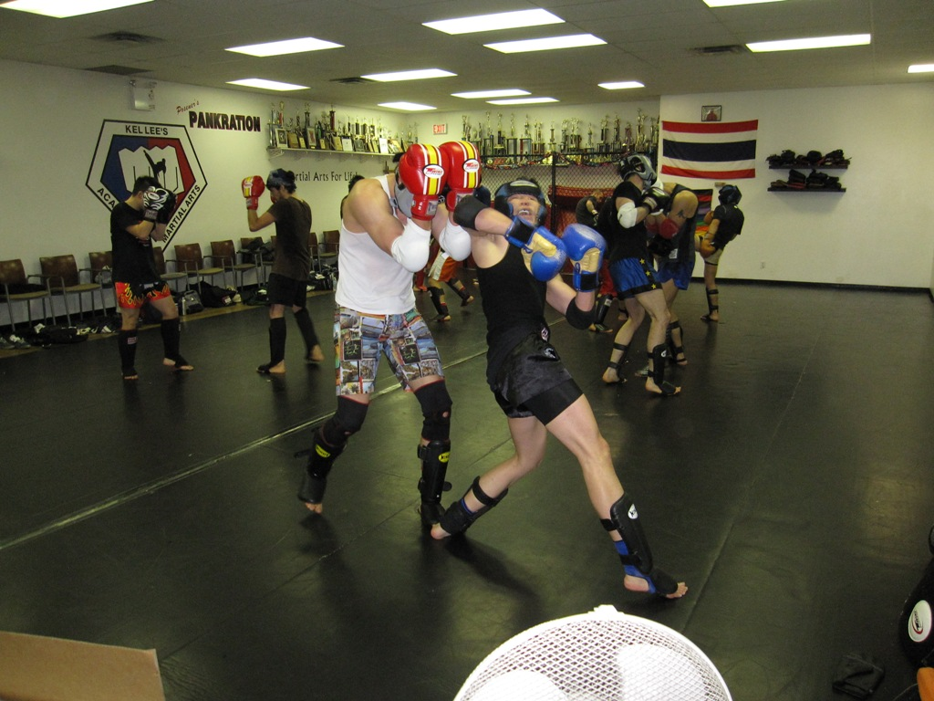Muay Thai Kickboxing test