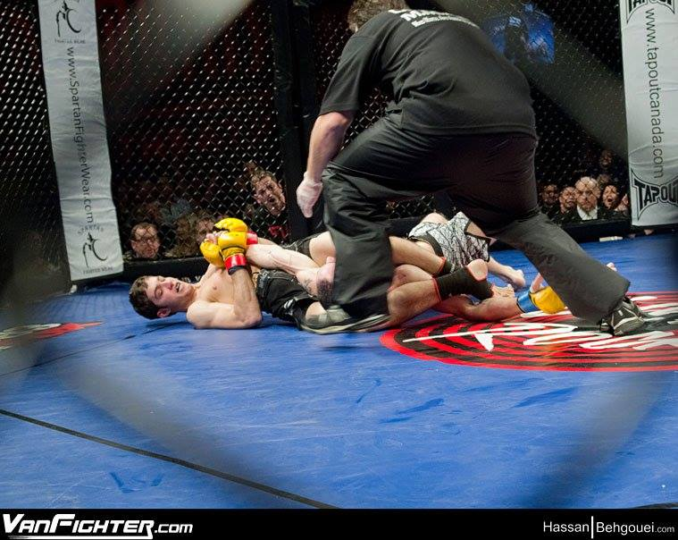 MMA Vancouver WCP title pic