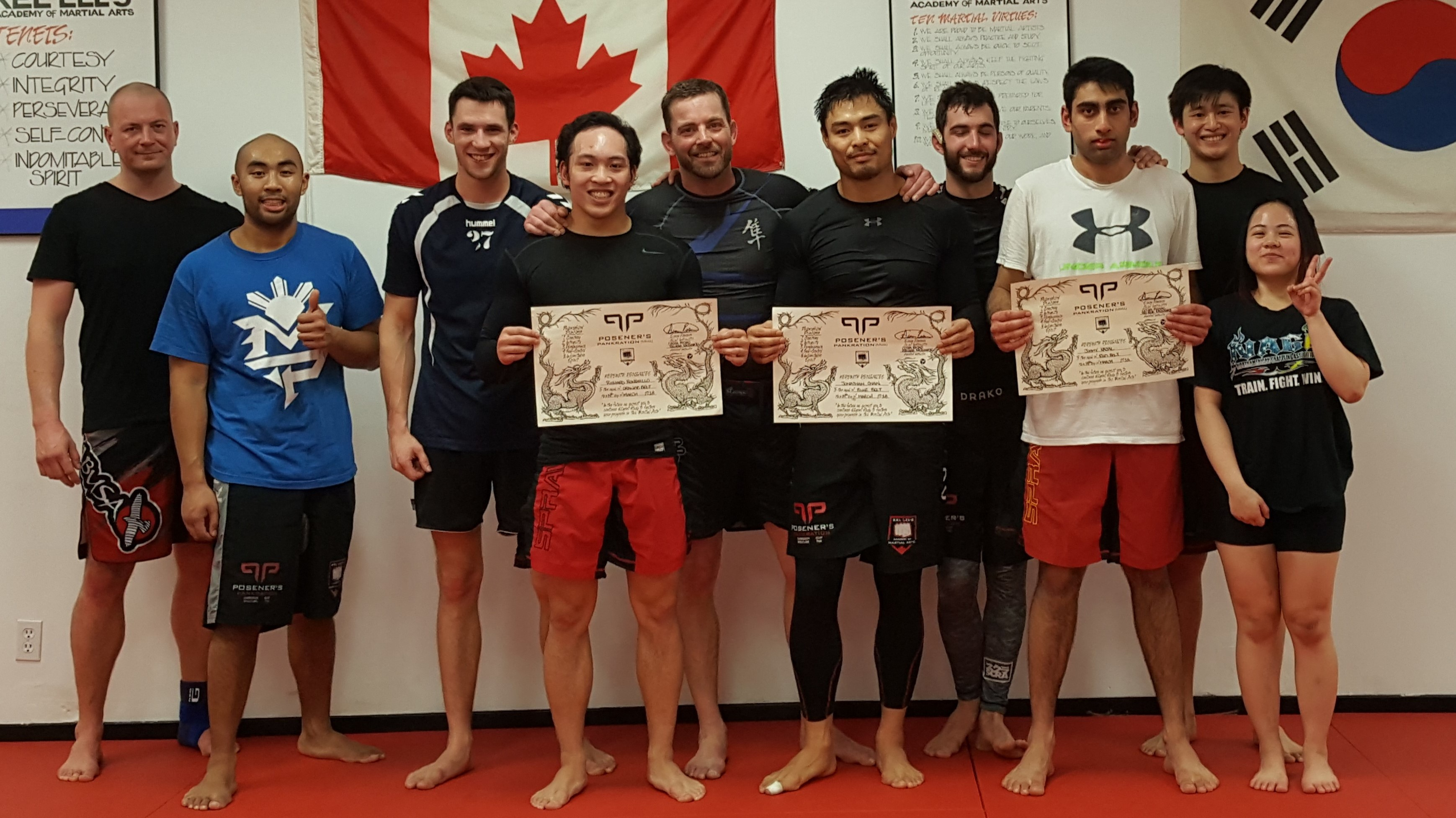 MMA Vancouver a few missing
